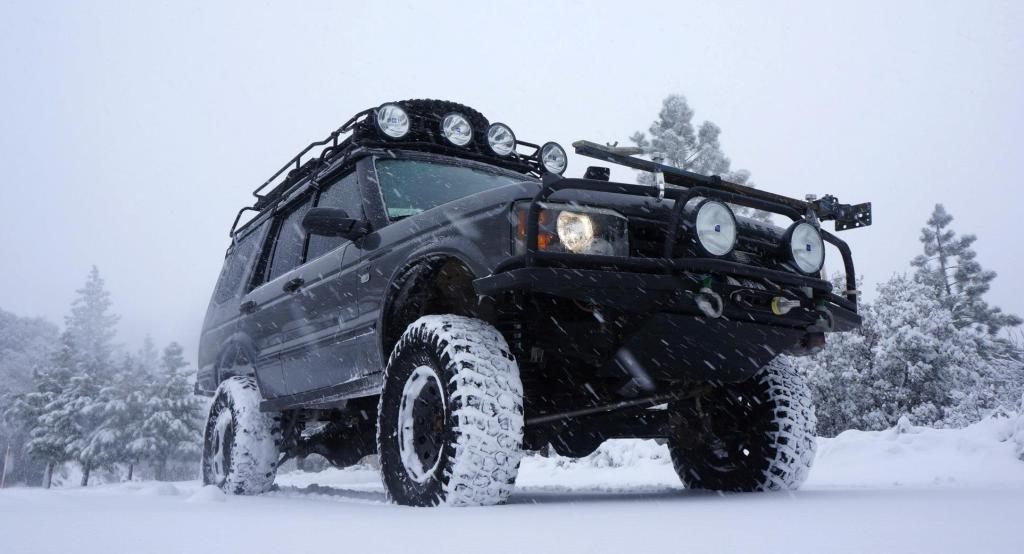 SNOW WHEELING WITH FOURTREKS MOUNTS!